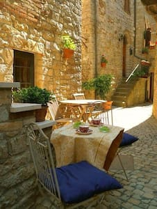 Fabulous house in Umbrian village - Casa