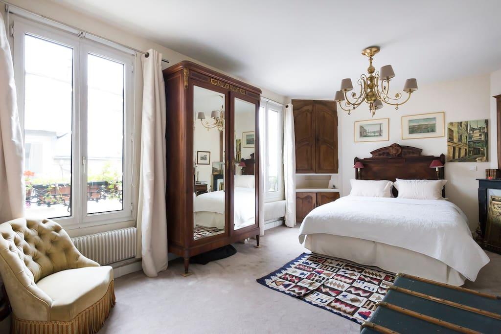 Upstairs master bedroom.