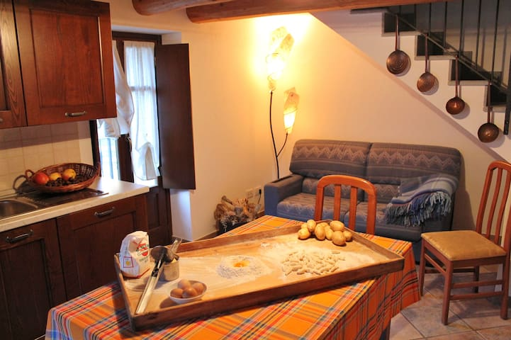 IPA1445 STELLA ALPINA - SAN MICHELE DI Prazzo - Wohnung
