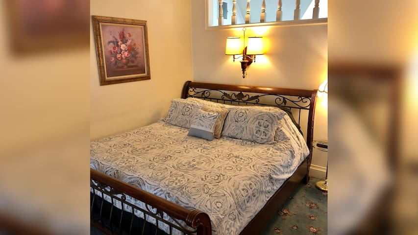 The Honeymoon Suite at Historic Powers Mansion Inn