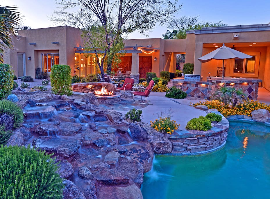 sunny secluded getaway maisons louer paradise valley arizona tats unis. Black Bedroom Furniture Sets. Home Design Ideas