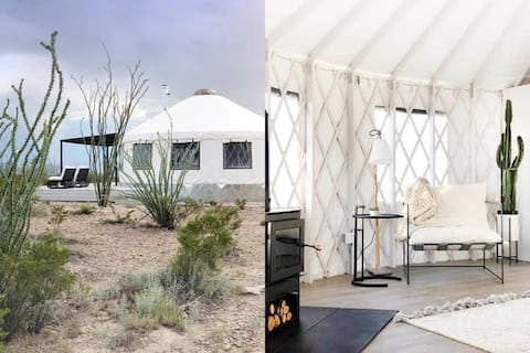 The Local Chapter Big Bend Luxury Yurt 4 NEW