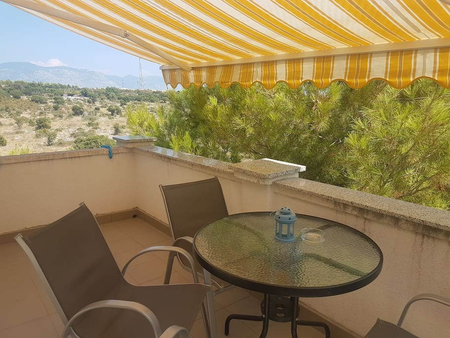 Balcony with a view -  National park Velebit (mountain) and natural landscape of Pag!.