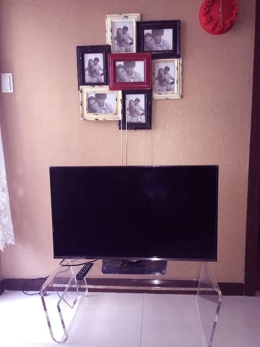 TV at living room