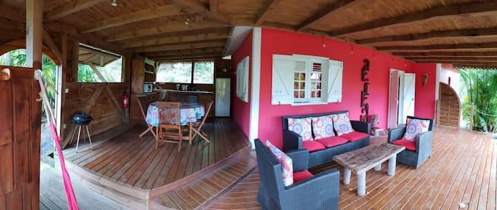 Villa Kariacou en harmonie avec la nature !