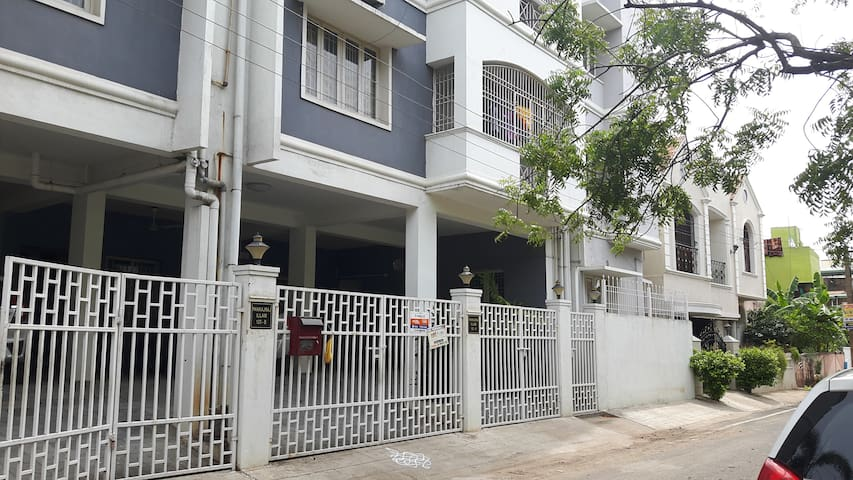 Beautiful  furnished one BHK apartment in Chennai - Chennai - Apartamento
