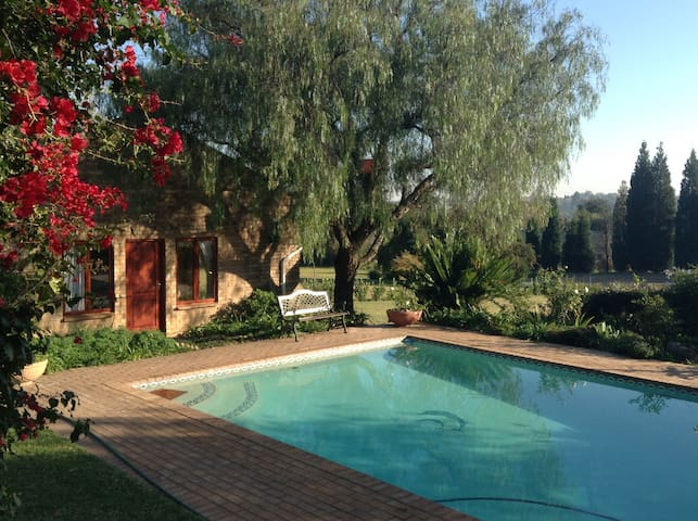Beautiful garden property