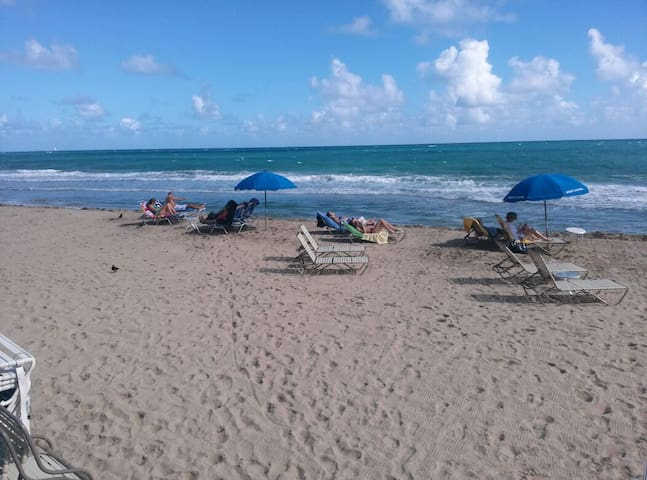 Studio eff ON Pvt beach,Pvt balcony - Fort Lauderdale - Apartment