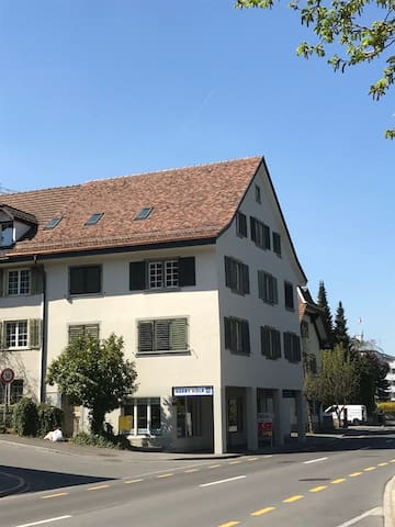 Zürich bis 3 Zimmer im grossen Haus Seeblick & See