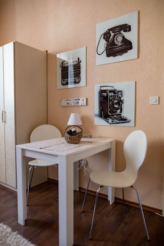 Sarajevo center , apartment for two, free parking