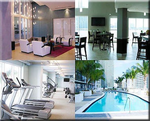 Luxury In Miami Beautiful 2 Bedms 3 Baths Brickell