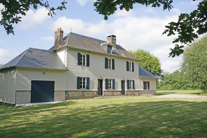 Magnificent 18th century farmhouse - Saint-Christophe-sur-Condé - 一軒家