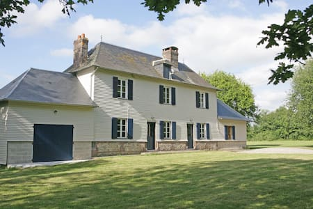 Magnificent 18th century farmhouse - Saint-Christophe-sur-Condé - Hus