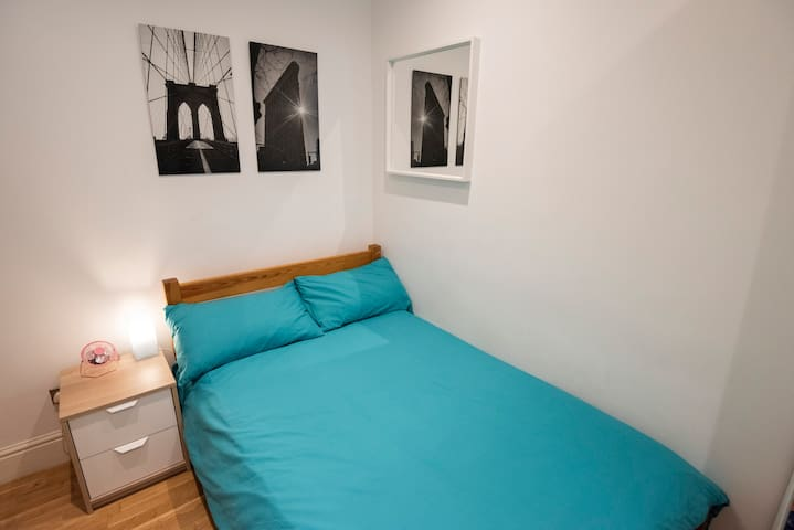 One double bedroom with fresh linen and towels included in the price