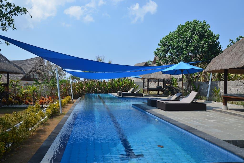 20 m outdoor lap pool