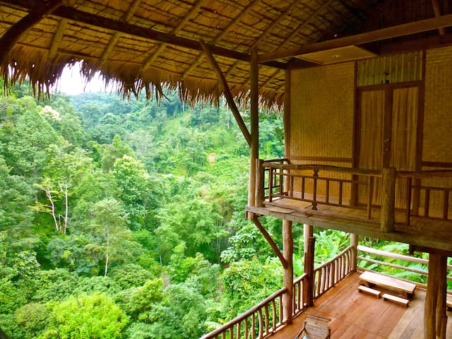 Big Room @ The Tree House Hideaway  - Chiang Mai - Treehouse