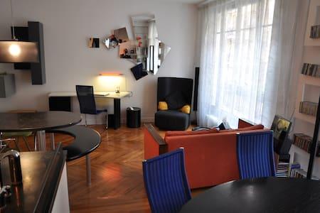 Beautiful Quiet Design 75m2 Apt - Paris - Lejlighed