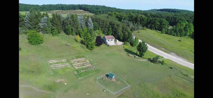 Enjoy 20 acres of beautiful Leelanau County!