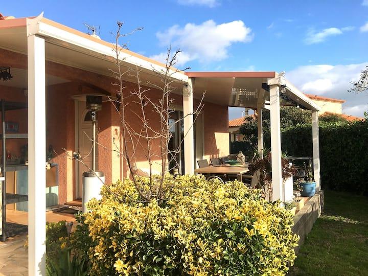 Près Port Barcarès, Jolie Villa Piscine