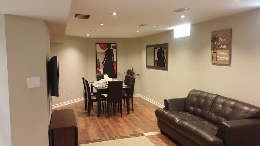 Vaughan House in AAA Location (Luxury Basement)