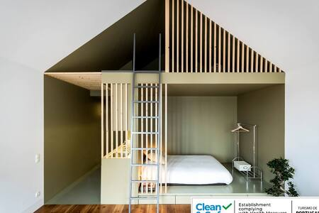 The GreenHouse-Loft with Mezzanine, Clean & Safe