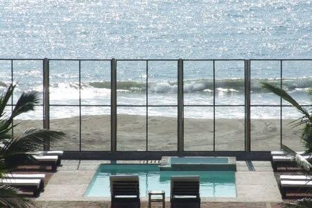 Envero Lodge Casa de 8 salida playa - Organos - 独立屋