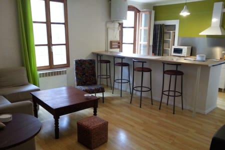 Appartement F3, centre ville 75m2 (4/6p), 2d étage - Sommières