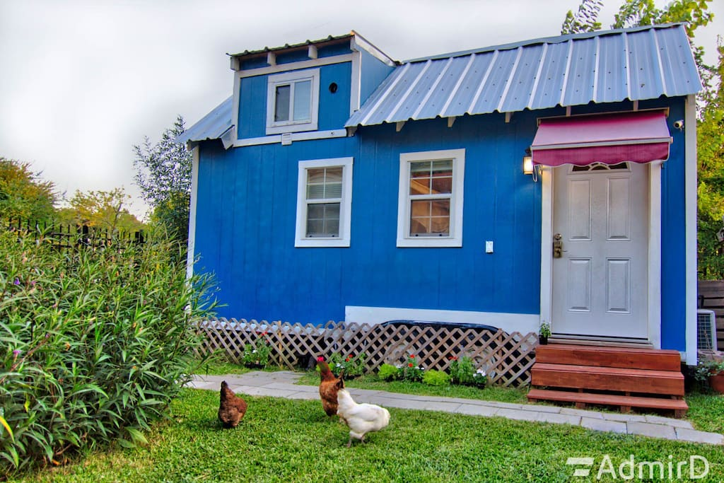tiny house midtown dwntwn w mini cooper or audi tiny houses for rent in houston texas. Black Bedroom Furniture Sets. Home Design Ideas