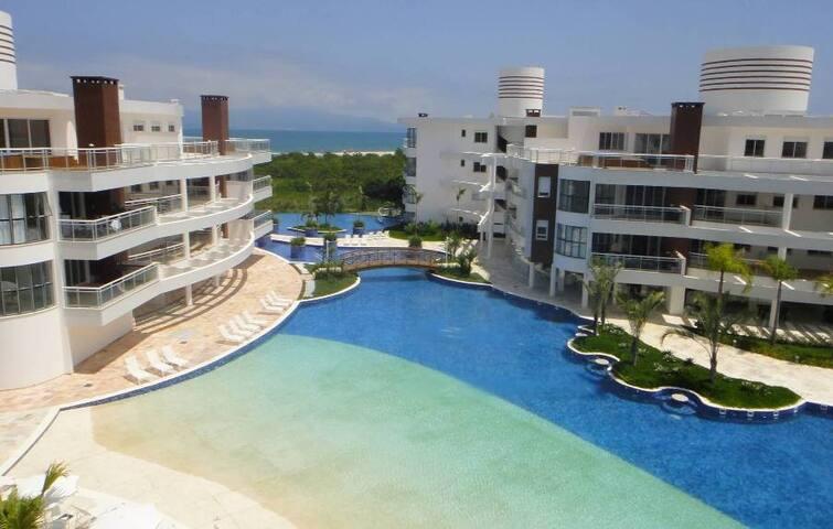 Resort Luxo, Floripa ! Vista montanha - 04 pessoas