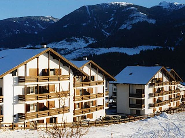 Trilocale nel cuore delle Dolomiti