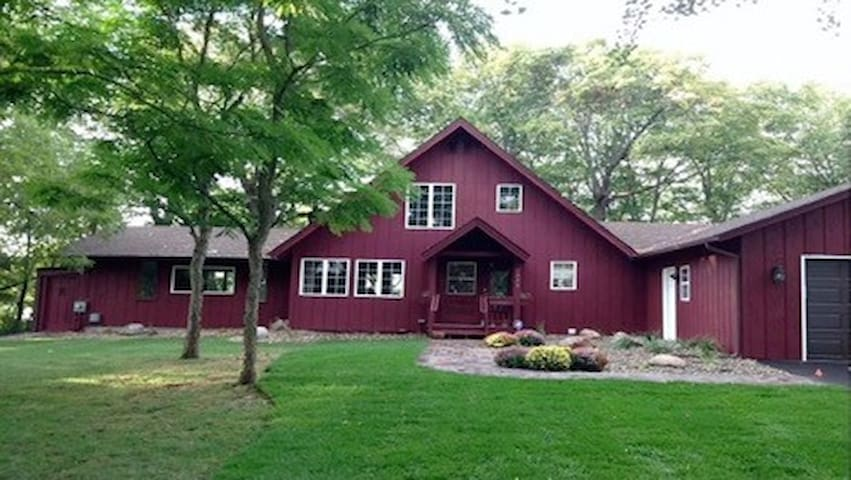 Cottage on Prior Lake with SPECTACULAR view
