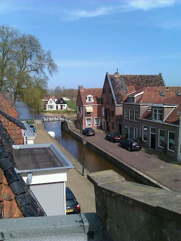Luxe studio in oude stadshart - Franeker