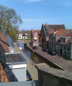 Luxe studio in oude stadshart - Franeker - 連棟房屋