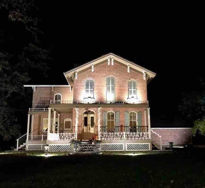 2020 Award-Winning 1868 Victorian Italianate Villa