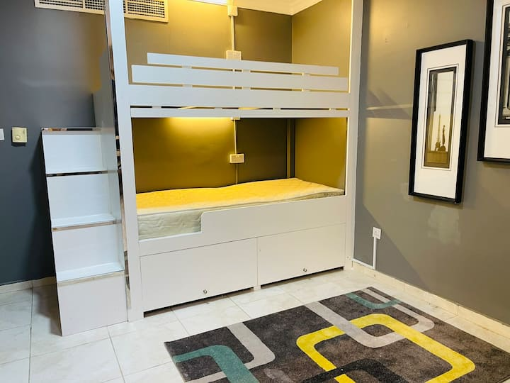 Urban female hostel bed 1