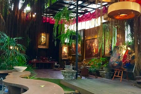 Mystery Art Garden,Near Airport,BKK - Bang Phli Yai - House