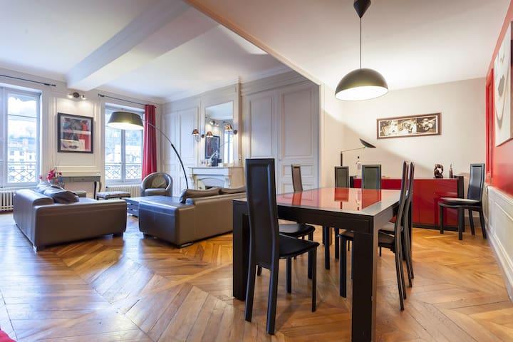 Splendid appartement in city center - Lyon - Apartment