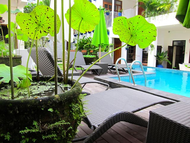 Room 2pax in TigaLima Homestay - Yogyakarta - Hotel boutique