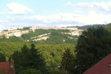 Near center with castle view and private parking - Besançon