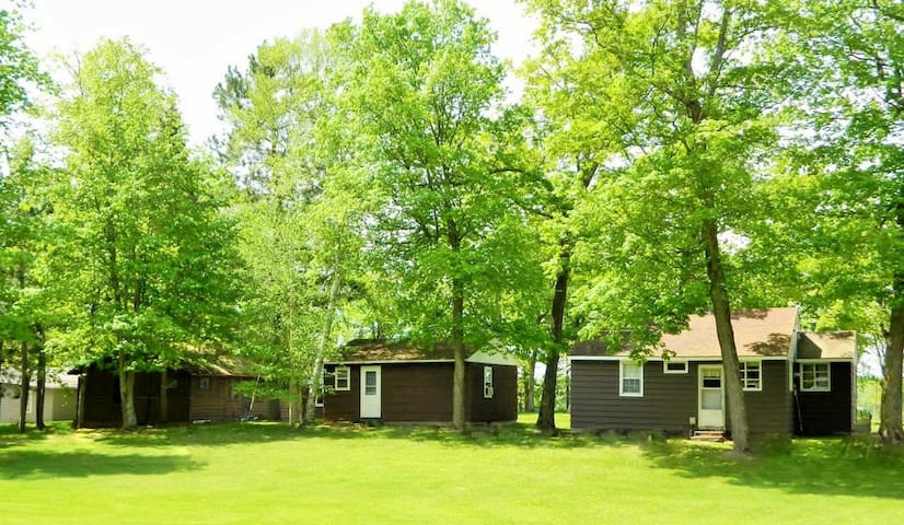 #1 Quaint Cabins on Pokegama Lake- Woodland Resort