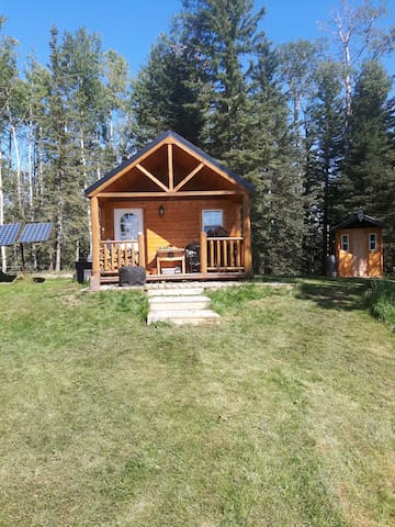 Off-Grid 4 Season Wilderness Cabin