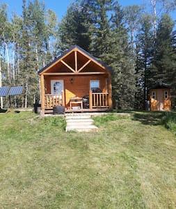 Off-Grid 4 Season Wilderness Cabin