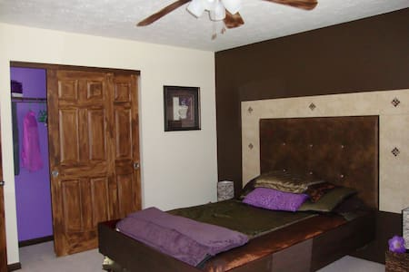 Nice Guest Bedroom with own BR - House