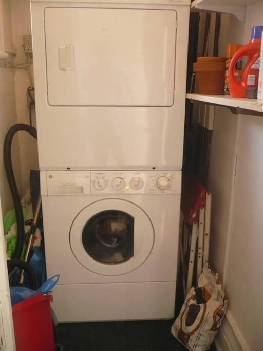 laveuse et sécheuse privées