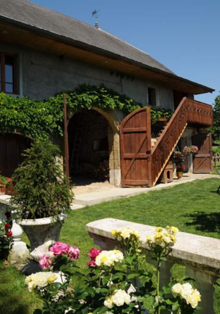 Maison d'Hôtes de Charme 15Km d'Annecy  10 pers