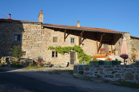 Chez la Vierzou in Auvergne - Bed & Breakfast