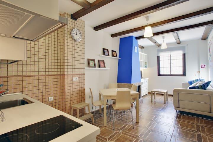Apartamento San Blas 2-5 plazas - Benaocaz - Leilighet