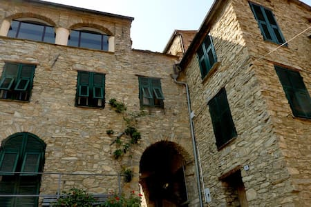 Historic Stone House with Terraces - Ville San Sebastiano - Talo
