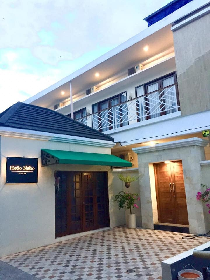 Canggu's Best Budget Private Rooms(Wifi,Pool,Cafe)