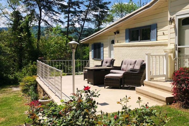 Lakeside Home Atop a Mini Mountain Hideaway!